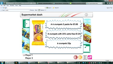 Using Number Skills - Money - Year 8 - Compare costs | Numeracy resources (LNF) | Scoop.it
