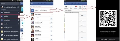 UPDATED: Facebook Adding QR Codes To Android App, Directing Scanners To Users' Profiles? - AllFacebook | SEO, SMO, Internet Marketing | Scoop.it