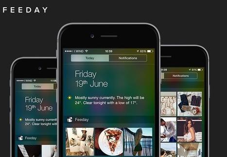 Feeday vous notifie les nouveaux posts sur Instagram pour iOS - #Arobasenet.com | Animation Numérique de Territoire | Scoop.it