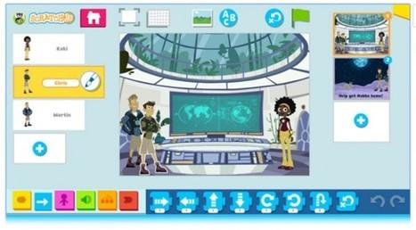 Nueva app para que los niños aprendan programación con juegos y cuentos interactivos | RED.ED.TIC | Scoop.it