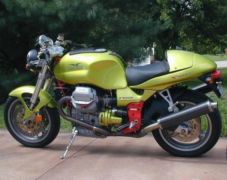 MOTO GUZZI V11 – (1998/2006) – Italia | Due ruote ed un motore | Scoop.it