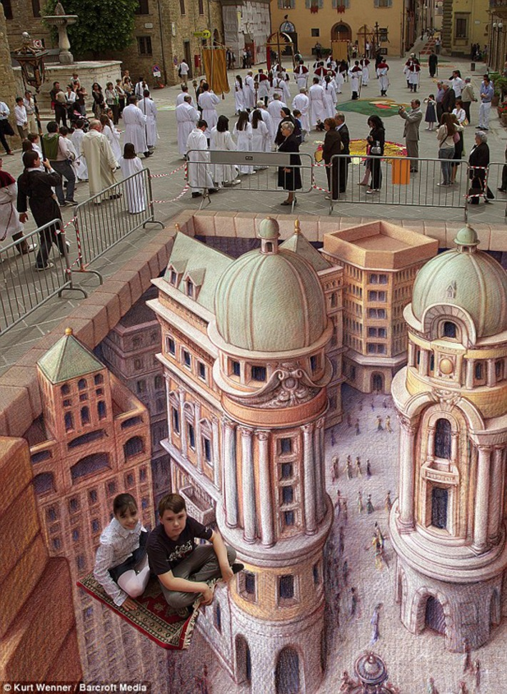 The City as a Canvas: Three-Dimensional Street Art | Pixel 77 | Machinimania | Scoop.it
