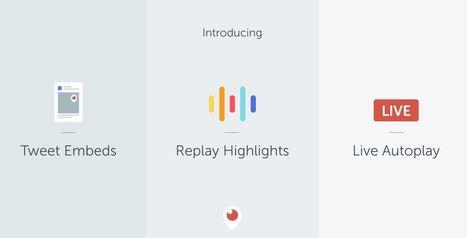 Nouveautés Periscope : embeds web, autoplay Android et highlights   Usages professionnels des médias sociaux (blogs, réseaux sociaux...)   Scoop.it