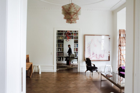 Karena Schuessler, un appartement comme une galerie d'art contemporain | Peinture au couteau par MARCHINI | Scoop.it