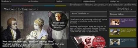 Timelines.tv, tus timelines de lecciones de historia | Educación a Distancia y TIC | Scoop.it