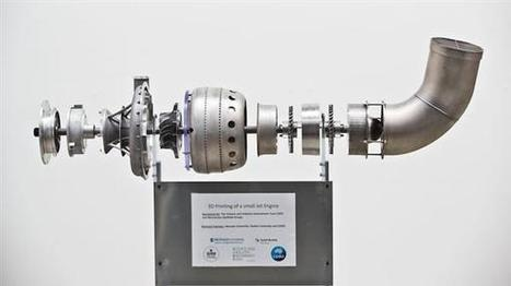 Team behind world's first 3D printed jet engine to print aerospace parts for Safran | innovation | Scoop.it