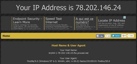 Quelle est l'adresse ip publique de votre box ? | Informatique | Scoop.it