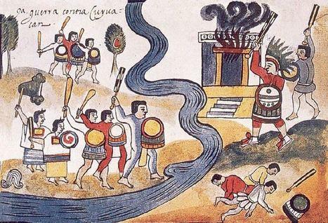 La guerra en el mundo azteca   Mundo Historia   Grandes Historias Aztecas   Scoop.it