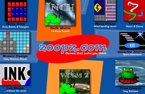 Zoopz.com | Games that make you think. | Technology Ideas | Scoop.it