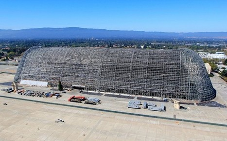 Google Takes Over NASA's Hangar One, a Silicon Valley Icon | Wired Enterprise | Wired.com | Google Algorithms News 2015 | Scoop.it