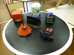 Fabriquer des «robots sumo» avec ses élèves de 3e pour les initier au code | Le libre en éducation | Scoop.it