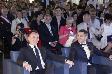 Eerste homohuwelijk in Frankrijk ingezegend - De Standaard   Macusa   Scoop.it