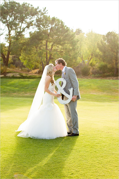 Graceful Garden Wedding At Shady Canyon Golf Club | Your wedding in France... | Scoop.it