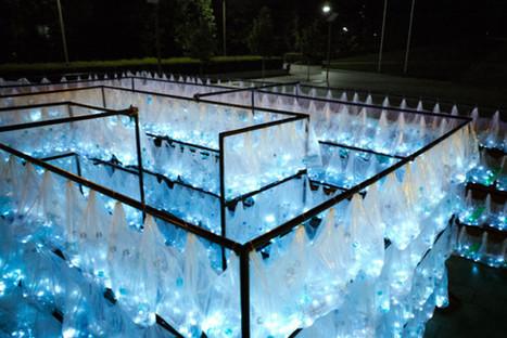 """Labyrinth of Plastic Waste"" by Luzinterruptus   Art Installations, Sculpture, Contemporary Art   Scoop.it"