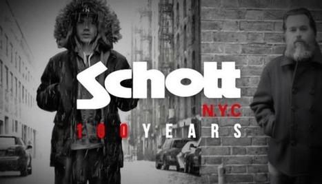 Schott NYC fête ses 100 ans en vidéo   Coup de coeur, coup de gu...   Scoop.it