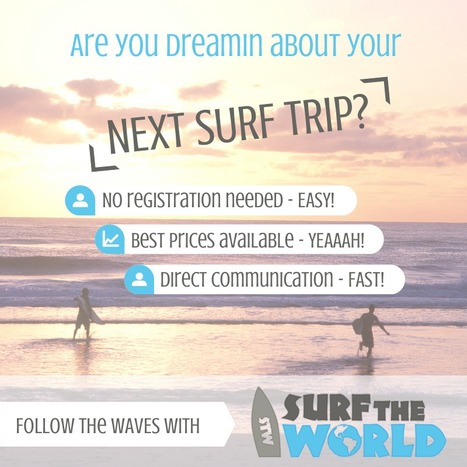 ARE YOU DREAMIN ALREADY???<br/><br/>FOOLOWtheWAVES with SURFtheWORLD<br/><br/>http://www.surf-th... | Surf travel | Scoop.it