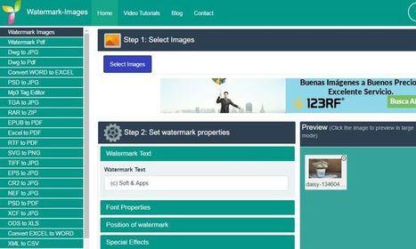 Múltiples herramientas web para editar imágenes y convertir archivos | Tablets na educação | Scoop.it