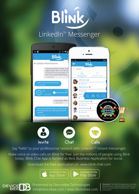 Blink Chat for LinkedIn™ - Official Press Released | Blink Chat for LinkedIn™ | Scoop.it