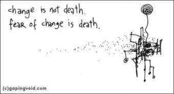 Les réseaux sociaux d'entreprises freinés par la peur du changement | La communication du 21ème siècle | Scoop.it