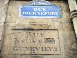 Histoire des plaques et numéros de rues | Rhit Genealogie | Scoop.it