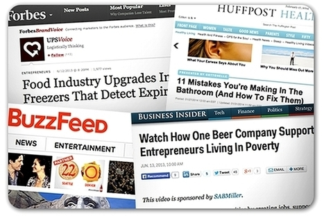 Survey: More than half of news outlets accept sponsored content | Journalism | Scoop.it