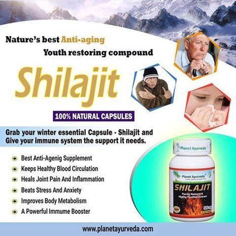Health Benefits ofShilajit in Winter Season - Herbal Supplement   Planet Ayurveda   Scoop.it