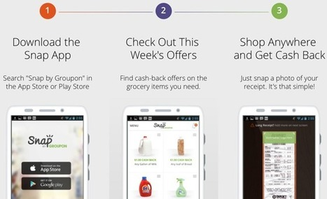 Snap by Groupon for iOS pays users cash back on grocery purchases - Apple Insider | Cashback Industry News, Reports, Blog and Tips | Scoop.it