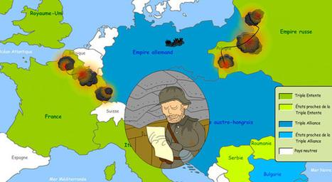 Pour vos leçons sur le 11 novembre et la Grande Guerre, @1jour1actu a un très beau dossier... | Educadores innovadores y aulas con memoria | Scoop.it