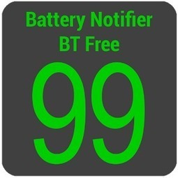 Battery Notifier BT Free v2.1.9 | Freeware android apps download | Scoop.it
