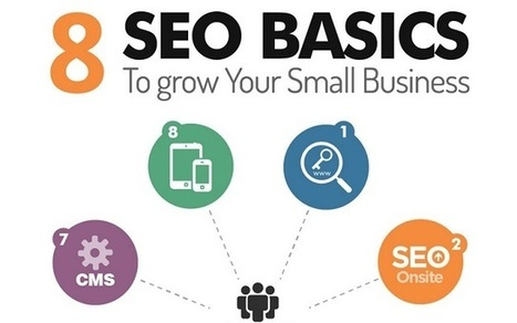 Visualistan: 8 SEO Basics To Grow Your Small Business #infographic | Grow your Business Fast! | Scoop.it