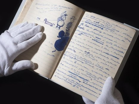 Samuel Beckett's Doodles of James Joyce And Charlie Chaplin Go On Display for the First Time | The Irish Literary Times | Scoop.it