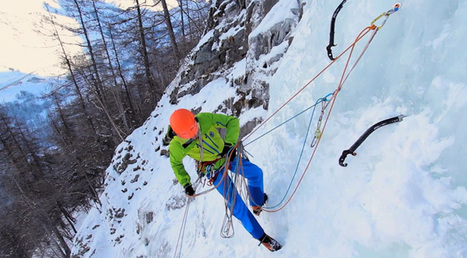 Ice climbing basics video: ice screw placement, anchors and V-threads - Planetmountain | Belay Stations | Scoop.it