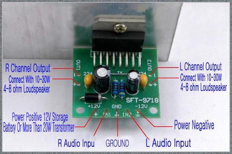 TDA7297 Amplifier Board Dual Stereo Module DC 12V 15W+15W - Digital Amplifier Module - Arduino, 3D Printing, Robotics, Raspberry Pi, Wearable, LED, development board Black Friday 2016 ICStation   Modules   Scoop.it