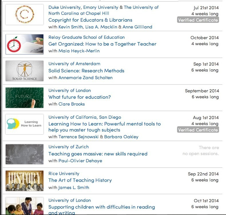 5 Free Courses for Teachers Professional Development (Thanks to Med Kharbach)