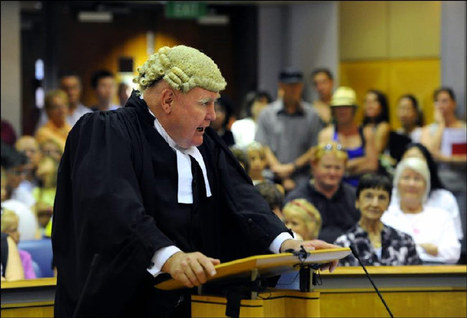 Wigs, robes and robbery for the public - NTNews.com.au | Hair There and Everywhere | Scoop.it