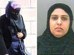 No hiding place! Police release mugshot of fraudster who hid face behind Muslim veil   UK   News   Daily Express   News round the Globe especially unacceptable behaviour   Scoop.it