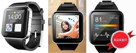 GEAK Watch is an Android 4.1 Smartwatch Packed with Features | Embedded Systems News | Scoop.it