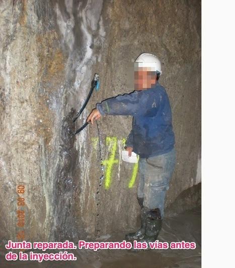 ¿Por qué sale agua del enchufe?: Taponado de vías de agua a través de pantallas de hormigón | Obras de Rehabilitación | Scoop.it