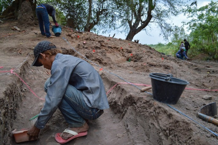 Choeung Ek dig unearths Angkor-era kiln | The Archaeology News Network | Asie | Scoop.it