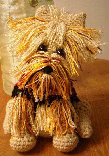 Peluche Yorkshire Terrier | Yorkshire-folie | Scoop.it