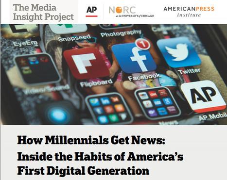 S'informer différemment: Les jeunes suivent l'actualité sur Facebook | DocPresseESJ | Scoop.it