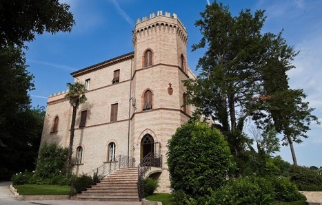 Best Le Marche Accommodation: Castello di Montegiove or Villa Hagemann, Fano | Le Marche Properties and Accommodation | Scoop.it