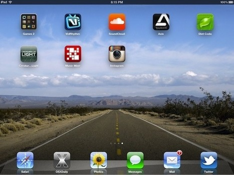 How to Set Custom Background Wallpaper in iOS | iPads in Education | Scoop.it