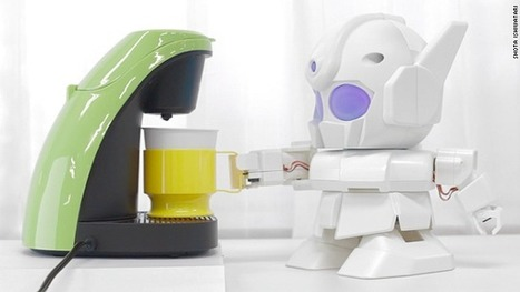 This Raspberry Pi robot will make you coffee | Raspberry Pi | Scoop.it