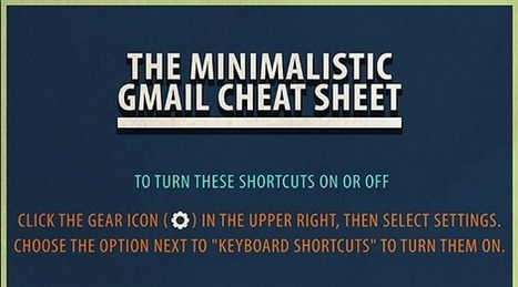 This Gmail Cheat Sheet Has Everything You Need To Make Emailing Quick And Simple | iGeneration - 21st Century Education | Scoop.it