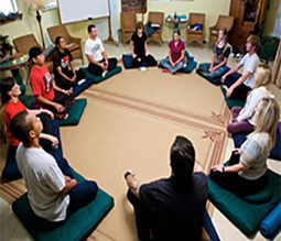 Breathing in a Circle - PsychCentral.com | Breathwork | Scoop.it