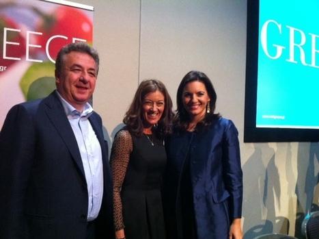 Minister Kefalogianni w/ Governor Arnaoutakis & Author Victoria Hislop | IncredibleCrete | Scoop.it