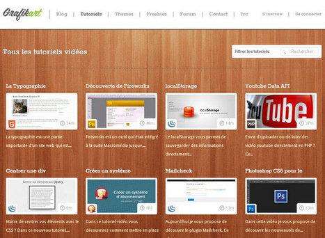 33 Screencasts & Podcasts Gratuits sur le Developpement Web/Webdesign # JunkSource Blog JunkSource Blog | Veille technologique: développement web | Scoop.it