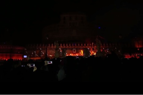 Watch incredible light show in Rome to celebrate the release of the PS4 | Sharing the secret | Scoop.it
