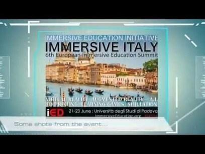 IMMERSIVE ITALY | Riprendiamoci - Corso di tecniche di ripresa e video streaming dai mondi virtuali | Scoop.it